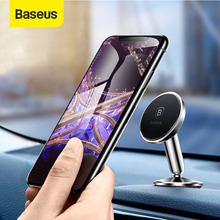 Baseus magnetic car phone holder 360 degree rotaion Universal for iPhone 11 x xs Xiaomi stand Mount Universal Smartphone support