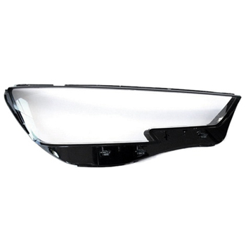 Car Clear Headlight Lens Cover Replacement Head Light Lamp Cover For-Audi A4 B9 2015-2018-Right