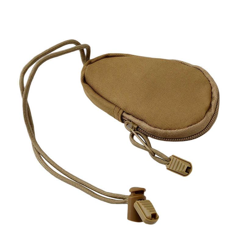 Unisex Mini Portafogli Key Holder Chiave Impermeabile Borsa per Le Monete Borse Del Sacchetto Portachiavi Cassa Del Supporto Del Sacchetto Della Chiusura Lampo Edc Strumenti Chiave caso di Borse
