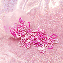 Slime-Supplies-Accessories Charm Fluffy Love Lizun-Toys Addition Epoxy-Filler Gradient-Color