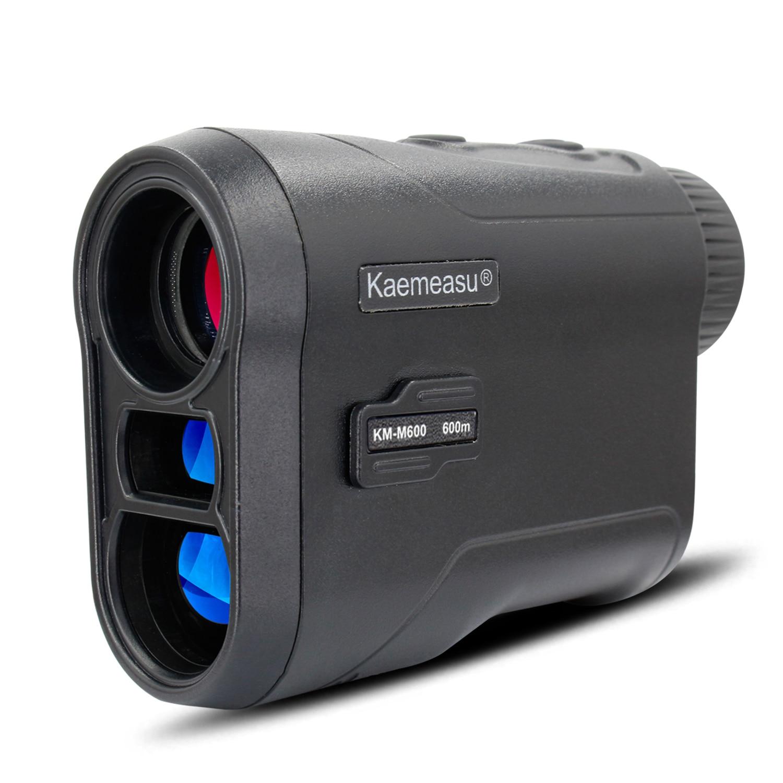 Laser rangefinder 450m 600m medidor de distância a laser ao ar livre golf digital monocular range finder ângulo velocidade altura ferramenta medição