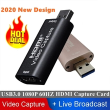 4K Mini Video Capture Card HD HDMI 1080P Erwerb Karte USB 3 0 Audio Video Capture Card Adapter für PS4 XBOX Spiel Live-Stream cheap ALLOYSEED CN (Herkunft) Video u Fernsehtuner-Karten