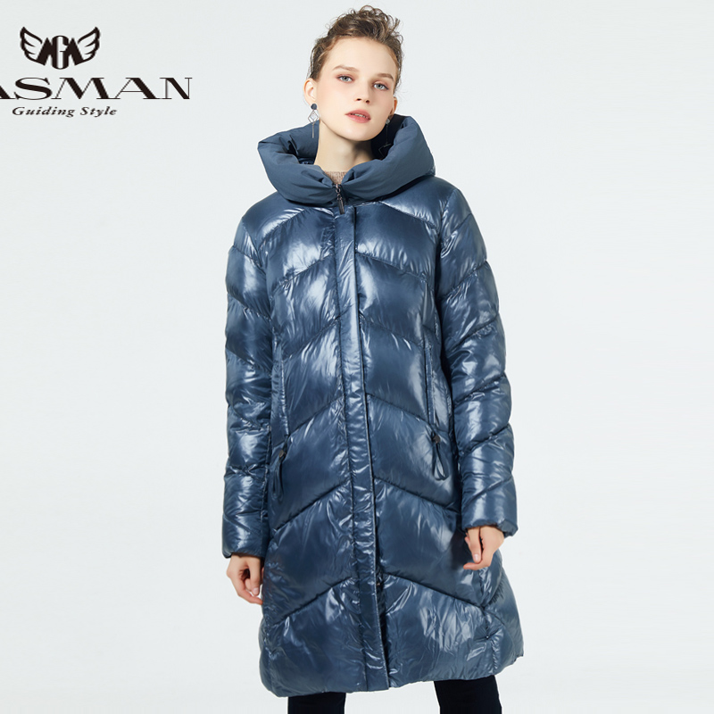 GASMAN 2019 Brand Fashion Thick Women Winter Bio Down Jackets Hooded Women   Parkas   New Winter Female Coats Plus Size 5XL 6XL