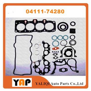 Комплект прокладок двигателя для FITToyota SX80 ST18 # SV3 # CAMRY 4SFE 2.0L L4 04111 74280 1992 2000