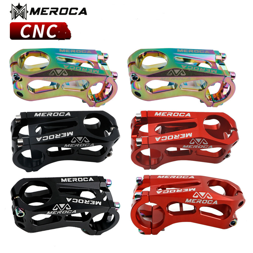 MEROCA CNC kids bike stem children balance sliding bike stem 17 degree 25.4*60mm bike parts
