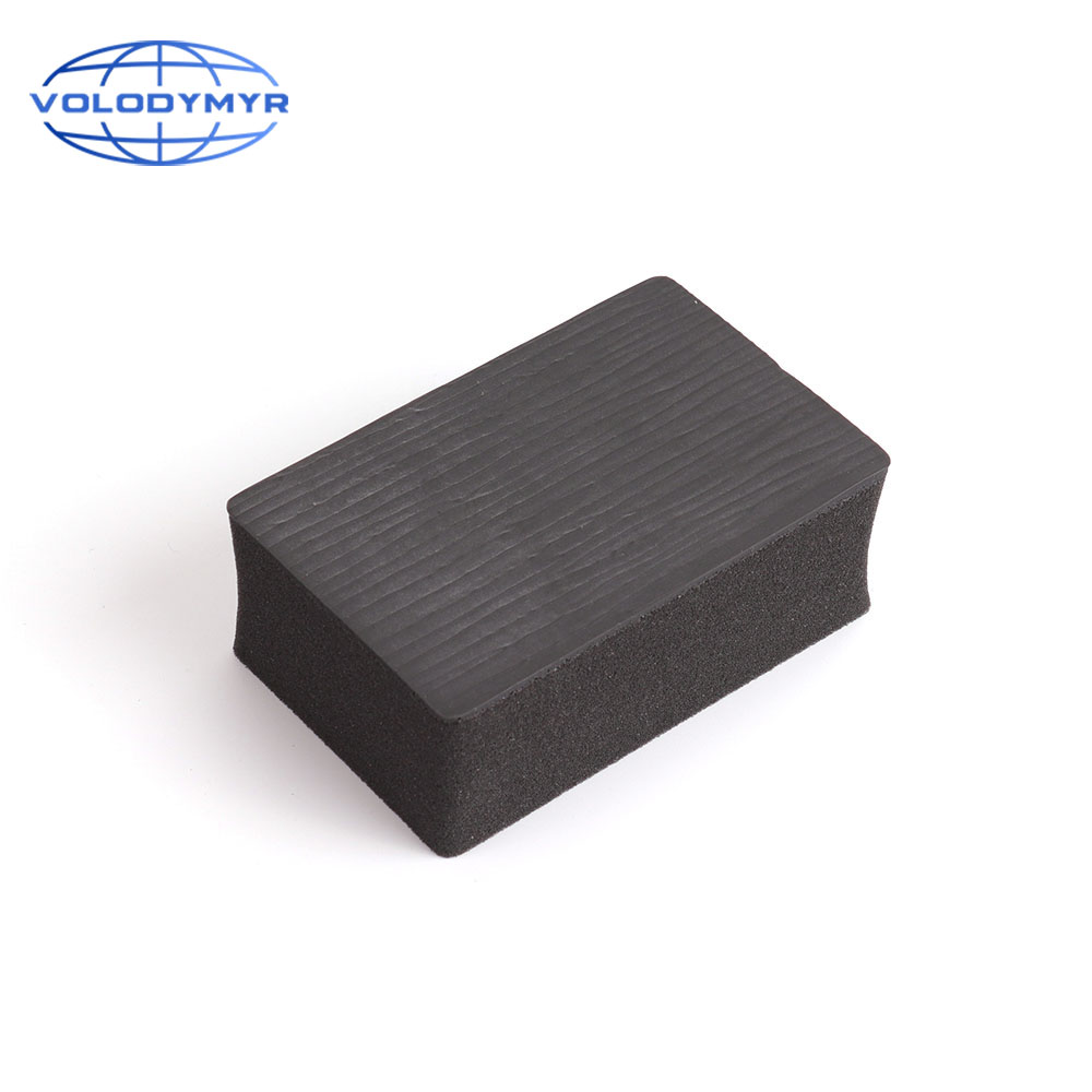 Volodymyr Magic Clay Bar Pad Sponge Block For Car Detailing Cleaning Washing Detail Polish Pad Auto Clay Clean Vehicle Cleaner