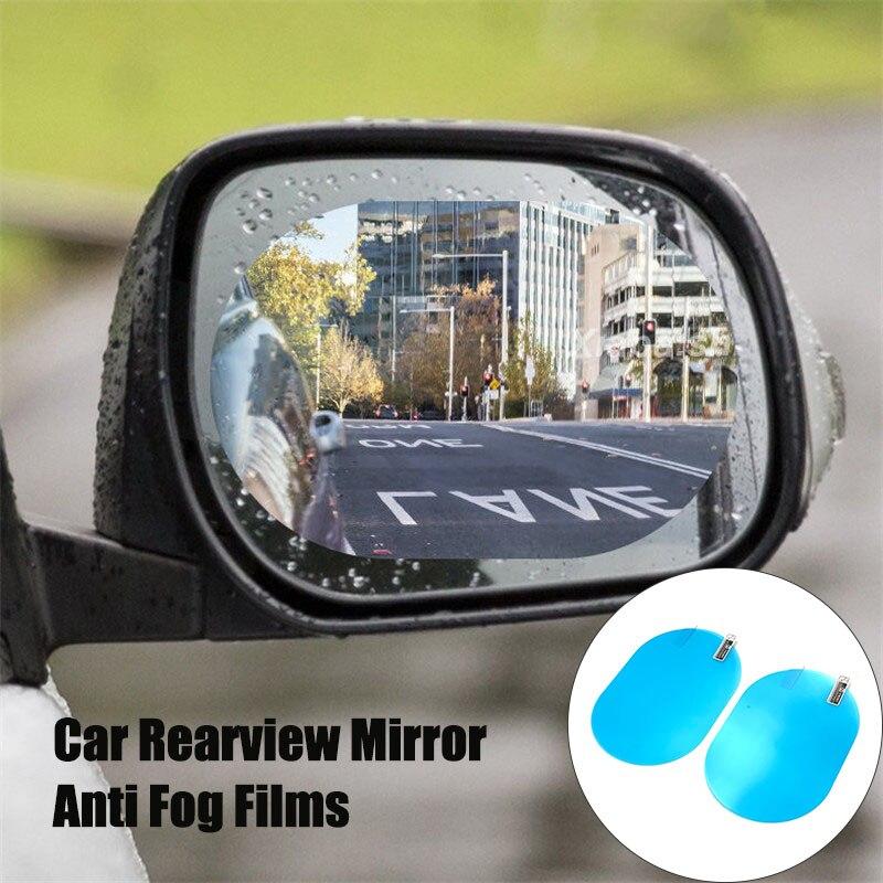 2Pcs Car rearview mirror waterproof anti-fog film For SAAB 9-3 9-5 9000 93 900 95 aero 9 3 42250 42252 9-2x 9-4x 9-7x
