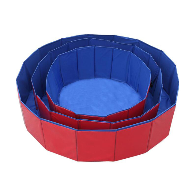 Foldable Padded Puppy Pool For Hot Summer Days  4