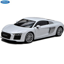 Welly 1:18 Audi R8 V10 Legering Sportwagen Model Auto Decoratie Collection Gift(China)