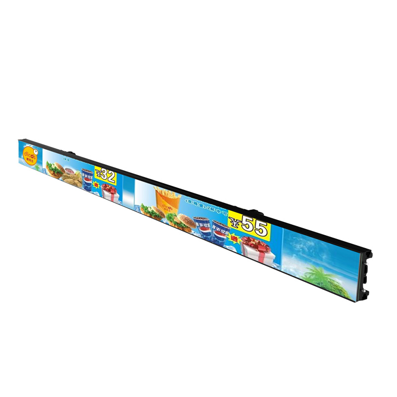 P1.8 60cm 1.9 Screen Retail Store Shelf Led Display