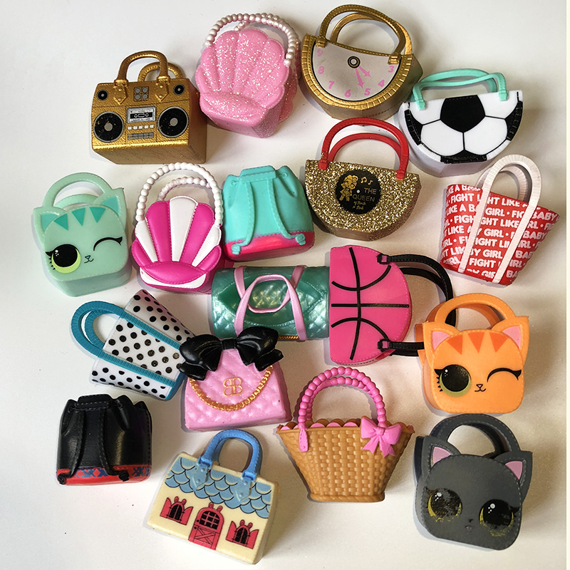 original lol dolls bags & hats accessories toys for lol dolls more style you can choose lol accessories only gifts for Kids