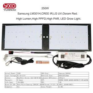Samsung LM301H затемняемый 150 Вт 240 Вт 3000K/3500K Osram 660nm CREE IR UV grow light quantum tech led board v3 с драйвером Meanwell