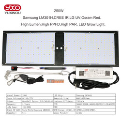 Samsung LM301H Dimmable 150w 240w 3000K/3500K Osram 660nm CREE IR UV grandir lumière quantique tech led conseil v3 avec conducteur Meanwell