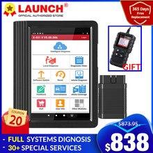 LAUNCH-herramientas de diagnóstico profesional para coche, escáner lector de código OBD OBD2 con reinicio PK X-431 Pro mini, X431 V V4.0
