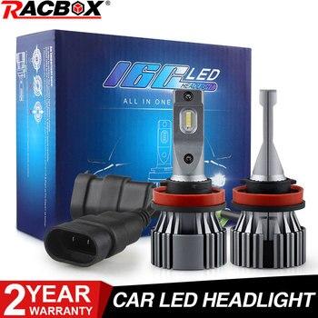цена на H7 Car Led Headlight Bulb H4 H11 H1 H3 H8 H9 H10 9006 HB4 9005 HB3 H27 880 881 5202 9012 H13 9007 High/Low Beam Led Bulbs 12V
