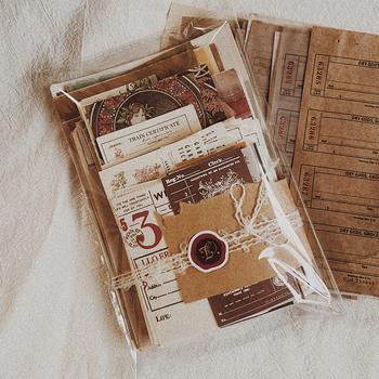 230 arkuszy Vintage Scrapbooking papierowy materiał Kit śmieci dziennik papier dekoracyjny Handmade papier typu kraft Scrapbooking dostaw tanie i dobre opinie CN (pochodzenie)