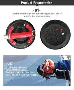 Image 5 - จัดส่งฟรี 2 ชิ้น/ล็อต 9 นิ้วอุปกรณ์ Gripดูดถ้วยสูญญากาศสำหรับหินแกรนิต & แก้ว