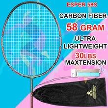 Esper профессиональная ракетка для бадминтона из углеродного