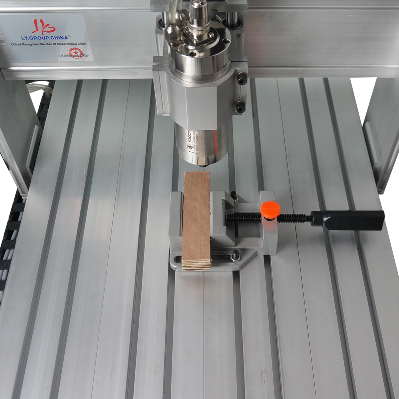 CNC Aluminium Alloy Flat Tongs Vice Milling Machine Bench Drill Vise Fixture Tool Kit