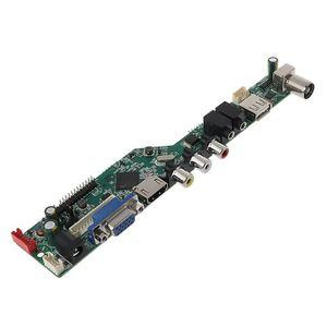 Image 5 - Universal LCD Controller Board Resolution TV Motherboard VGA/AV/TV/USB Interface Driver Board Drop Ship