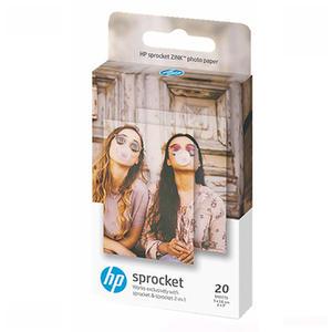 HP Sprocket  Zink Sticky-Backed 2x3 inch 20 Sheet Photo Paper