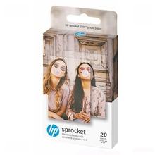 HP ضرس زنك لزجة المدعومة 2x3 بوصة 20 ورقة ورق طباعة الصور