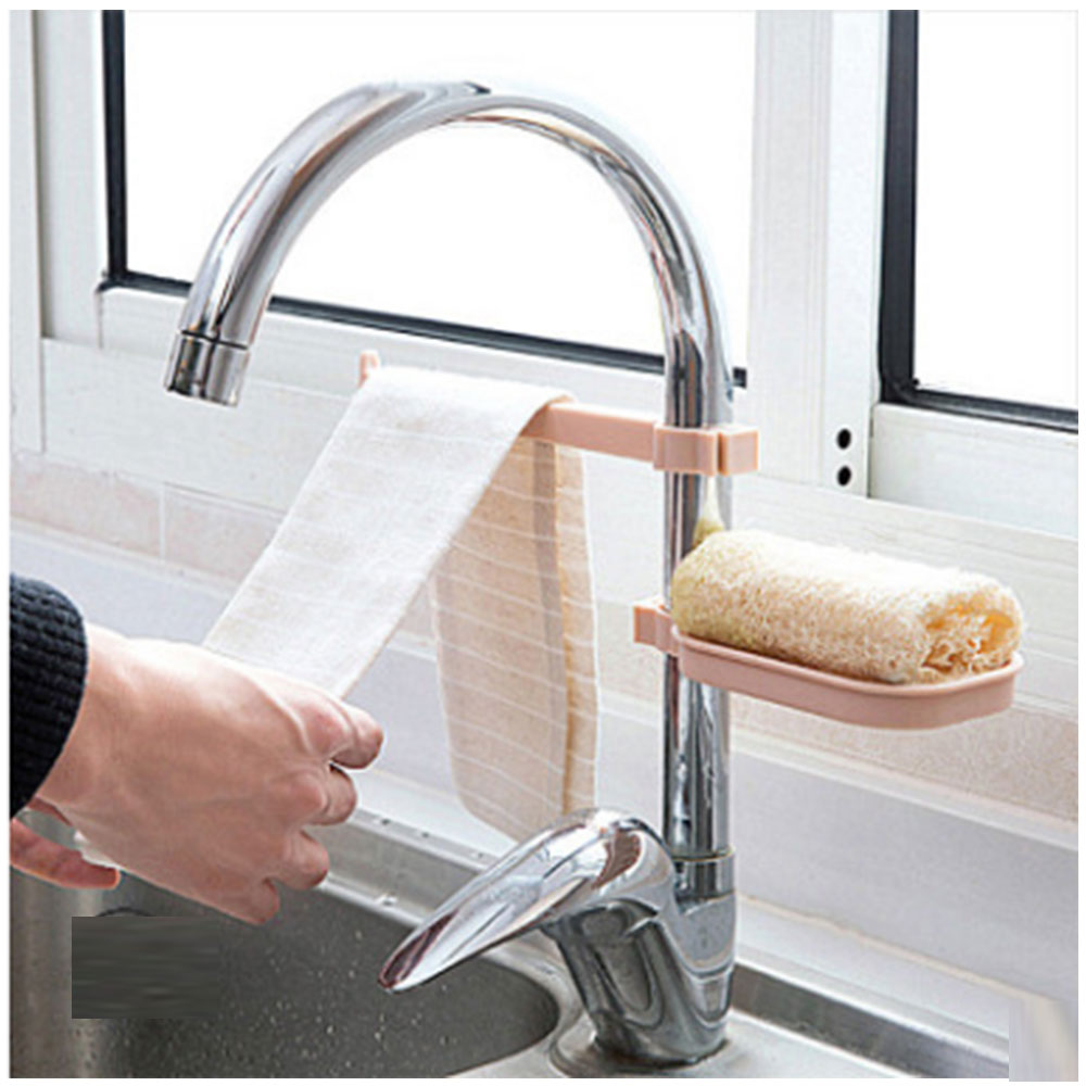 Kitchen Supplies Sponge Bowl Arrangement Rack Water Wear Combination Set
