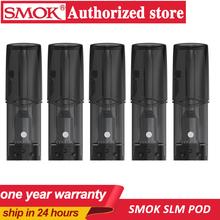 5 sztuk paczka Smok SLM ceramiczne POD Vape 0 8ml pojemność Atomizer do elektronicznego papierosa pod Vape nadające się do zestawu SLM VS Infinix Fit Pod tanie tanio CN (pochodzenie) SLM pod Z tworzywa sztucznego Nie-wymienne