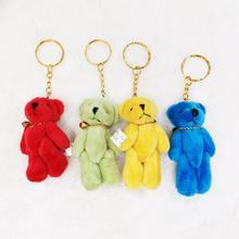 24 шт/лот милые игрушки медвежонки детские подарок на день рождения