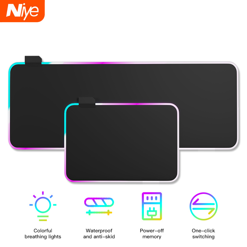 RGB Gaming Mouse Pad Large Non slip Mouse Pad Gamer LED Computer Mousepad Big Mouse Mat with Backlight XXL For keyboard Mice Mat|Mouse Pads|   - AliExpress