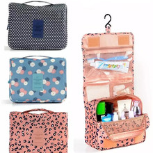 Makeup-Bag Toiletries-Storage-Bag Travel-Kit Waterproof High-Capacity Ladies