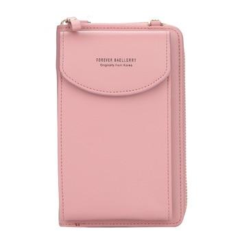 wallet women Diagonal PU multifunctional mobile phone clutch bag Ladies purse large capacity travel card holder passport cover 11