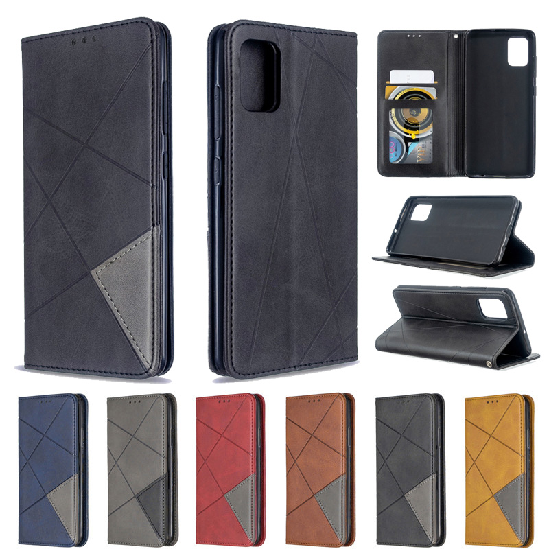 Sfor Samsung Galaxy A51 Case Magnetic Flip Case For Fundas Samsung Galaxy A51 A 51 A71 A01 A11 A21 A31 Cover Leather Phone Cases