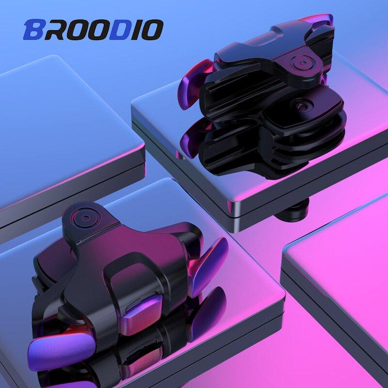 Новый телефон игровой триггер для мобильных телефонов Кнопка огня ручка шутер Джойстик Геймпад для PUBG Fire Shooting Aim Key L1R1 контроллер
