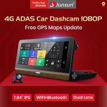 """Junsun E31 Pro 4 г автомобиля Камера GPS 7."""" Android 5.1 Автомобильные видеорегистраторы WI-FI видео Регистраторы регистратор видеорегистратор видеорегистратор парковка мониторинга"""
