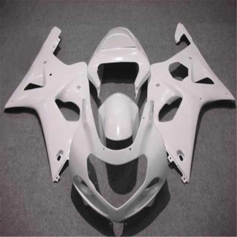 motorcycle fairing kit for suzuki gsxr1000 00 01 02 white  fairings set GSXR 1000 2000 2001 2002