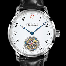 2020 Men Coaxial Tourbillon Mechanical Watches Top Brand Luxury Original ST8230 Movement Clock Mens Watch Crocodile Leather
