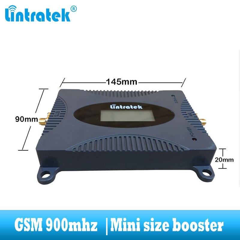 Amplificateur de communication de répéteur cellulaire 2G GSM 900MHz pour téléphone portable lintratek avec antenne Yagi et whid - 2