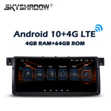 Carplay DSP 8.8inch Android 10.0 4GB + 64GB 4G LTE Car DVD Player GPS WIFI Bluetooth RDS Radio For BMW 3 E46 M3 Rover 75 MG ZT