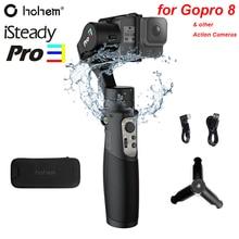Hohem iSteady Pro 3 A Prova di Spruzzi 3 Assi Handheld Gimble per DJI Osmo Action Gopro Hero 8/7/6/5/4/3 SJCAM YI Cam Telecamere di Azione