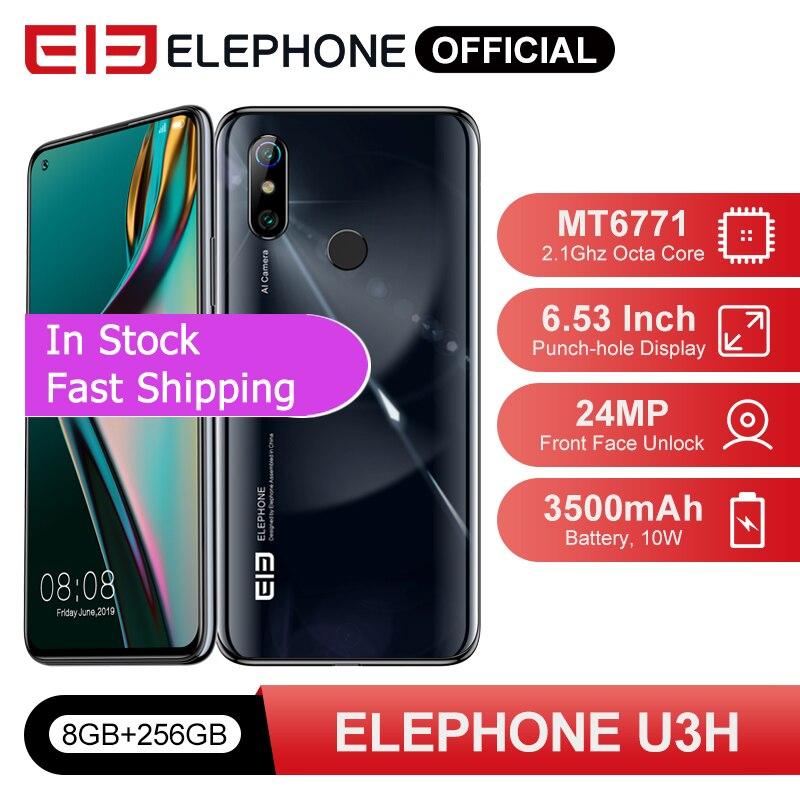 In Stock ELEPHONE U3H Octa Core Smartphone 8GB 256GB 6.53