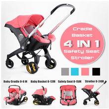 Baby Stroller 3 in 1 With Car Seat Baby Bassinet High Landsc