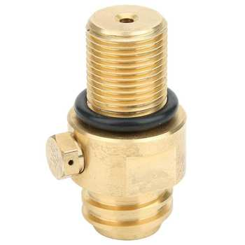 Thread CO2 Tank Valve Adapter CO2 Cylinder Tank Refill Adaptor Connector Adapter for Sodastream Paintball Accessories