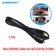 ANBERNIC RG350 RG350M Mini HDMI TV Via Cavo di Uscita Video Retro Game Accessorio Parti RG 350M 1.5M Ad Alta Definizione multimedia Cavo(China)