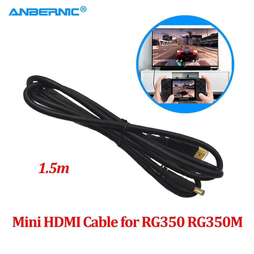ANBERNIC RG350 RG350M Mini HDMI TV Via Cavo di Uscita Video Retro Game Accessorio Parti RG 350M 1.5M Ad Alta Definizione multimedia Cavo