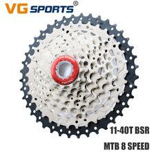 VG Sports MTB Bicycle Freewheel Cassette 8 Speed 40T Sprocket Flywheel cog cdg For Shimano Sram Velocidades 11-40T