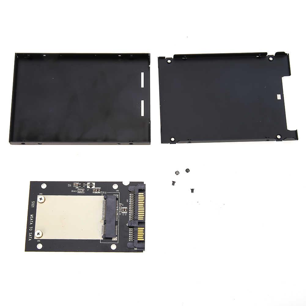 Uniwersalny mSATA Mini SSD do 2.5 cal SATA 22-Pin Converter karta adaptera do Windows2000/XP/7/8/10/Vista Linux Mac OS 10