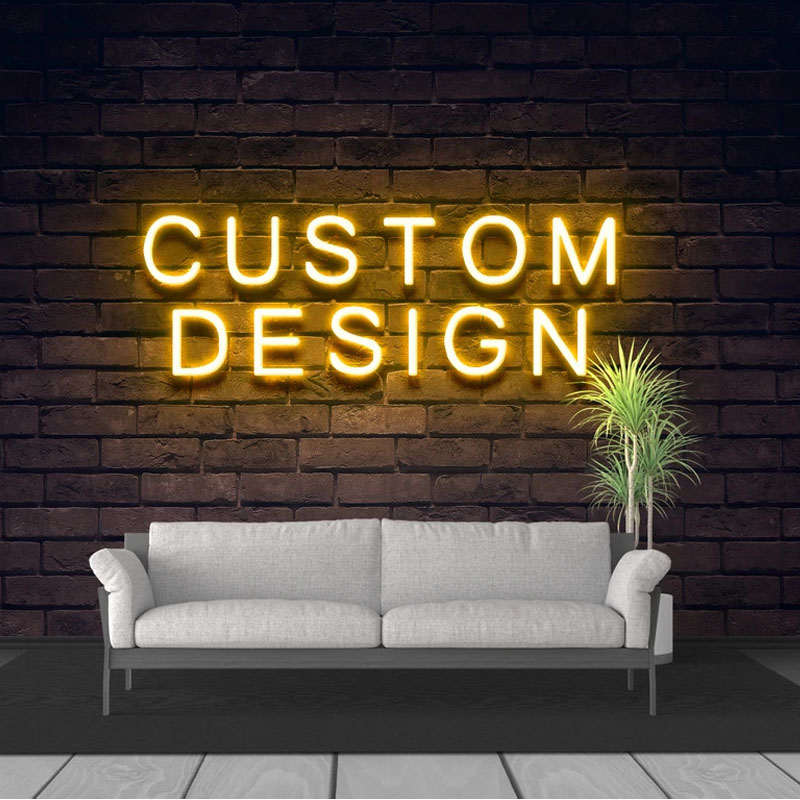 Custom Led Neon Sign Wedding Party Birthday Decoration for Room Indoor image