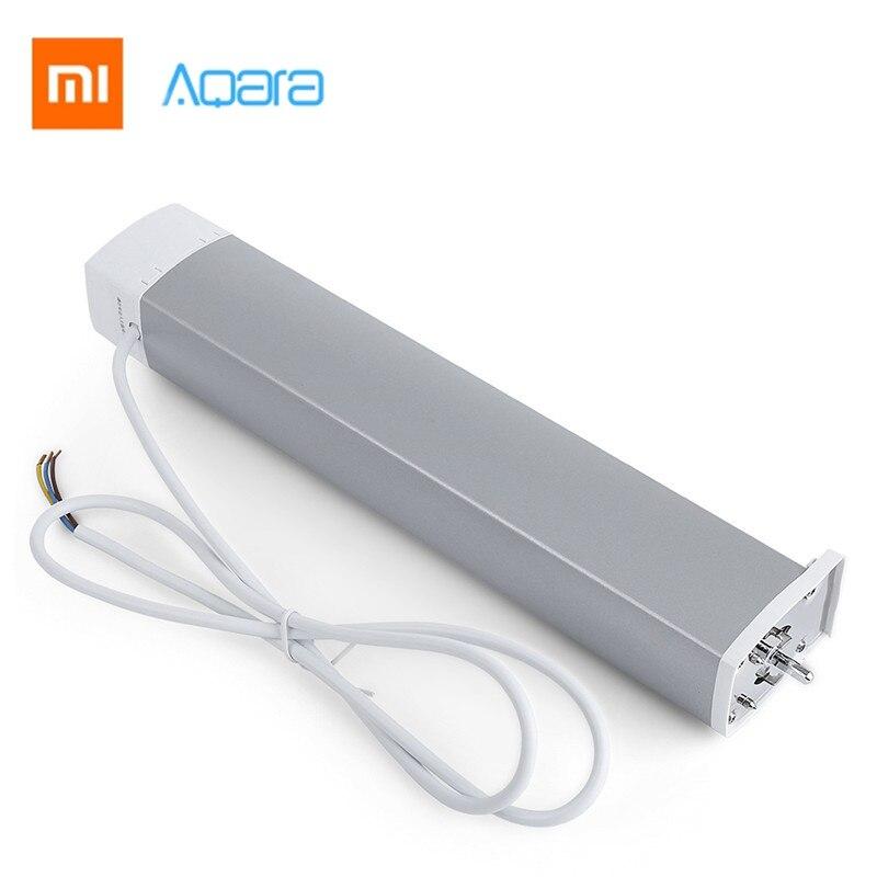 Xiaomi Aqara moteur de rideau Intelligent Zigbee Wifi Intelligent pour xiaomi dispositif de maison intelligente télécommande sans fil Via l'application mi maison