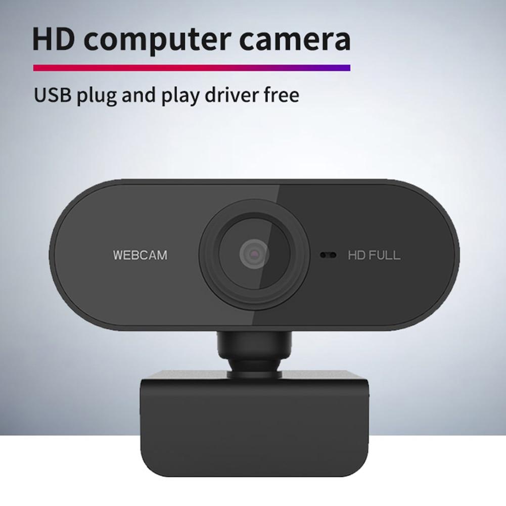 Веб-камера HD 1080P, 1080P, CMOS, USB-микрофон